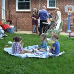 A first birthday party fit for a third child