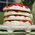 Why you should spend all day making a Strawberry Meringue Cake for your sweetheart