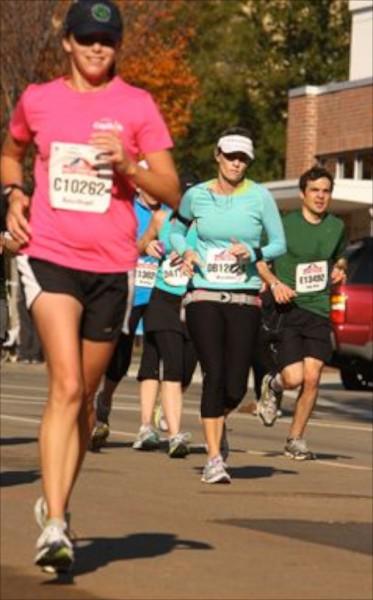 racing while pregnant - running a half marathon while pregnant