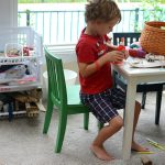 A space for mess, creativity, and kids (three things that are actually all synonyms)