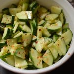 From the garden: Asian cucumbers