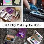 DIY play makeup for toddlers