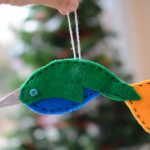 DIY Narwhal Ornament