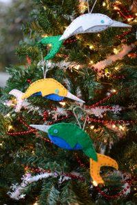 DIY Narwhal Ornament