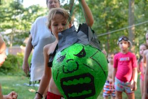 David's surprise Incredible Hulk birthday party