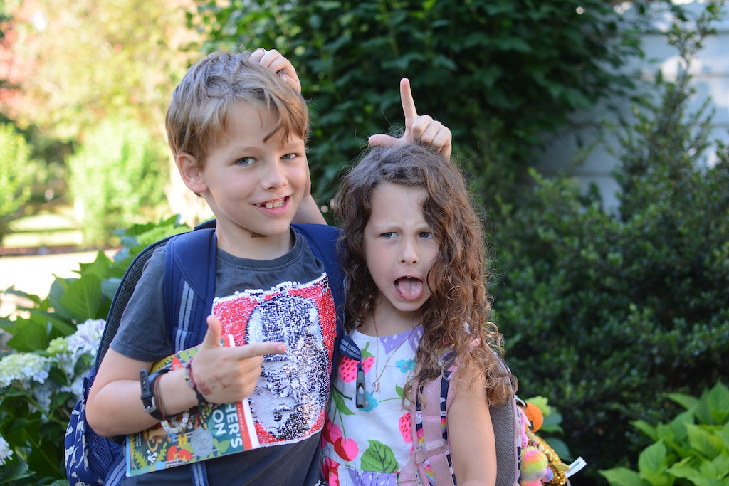 The last day of first grade and kindergarten | living on grace