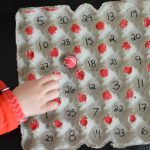 Number recognition ball game
