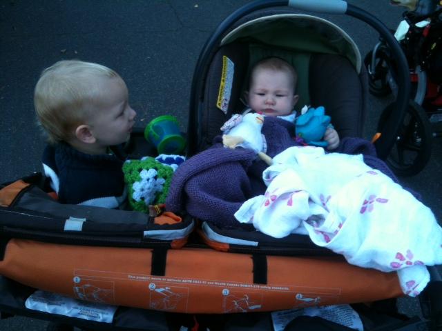 Baby's first half-marathon