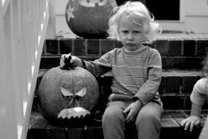 Carving pumpkins and other feats of strength