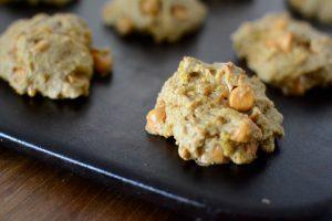 Pumpkin-butterscotch cookies