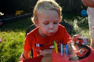 My biggest boy turns four