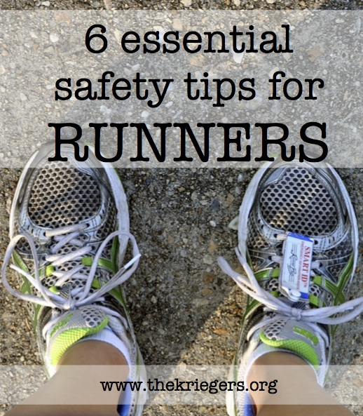 6 essential safety tips for runners