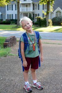 Thomas takes Kindergarten