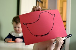 Easter crafts for busy toddlers and lazy mamas