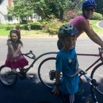 A family bike ride: Kriegers do hard things!