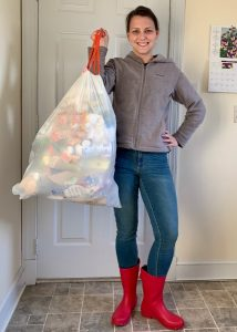 Taking out the trash: Our family's 2020 resolution