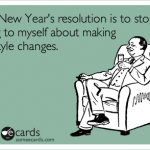 This year I resolve to…