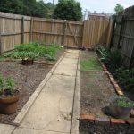 Vertical gutter garden