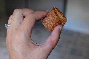 No-bake Cinnamon-sugar Twinkie bites